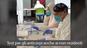 Test per gli anticorpi